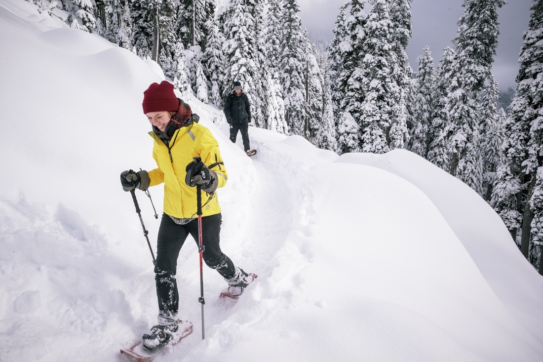 Racket, Snow Hiking