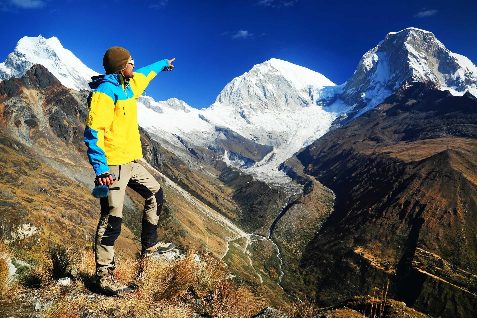 Touristic Mountain Guidance.
